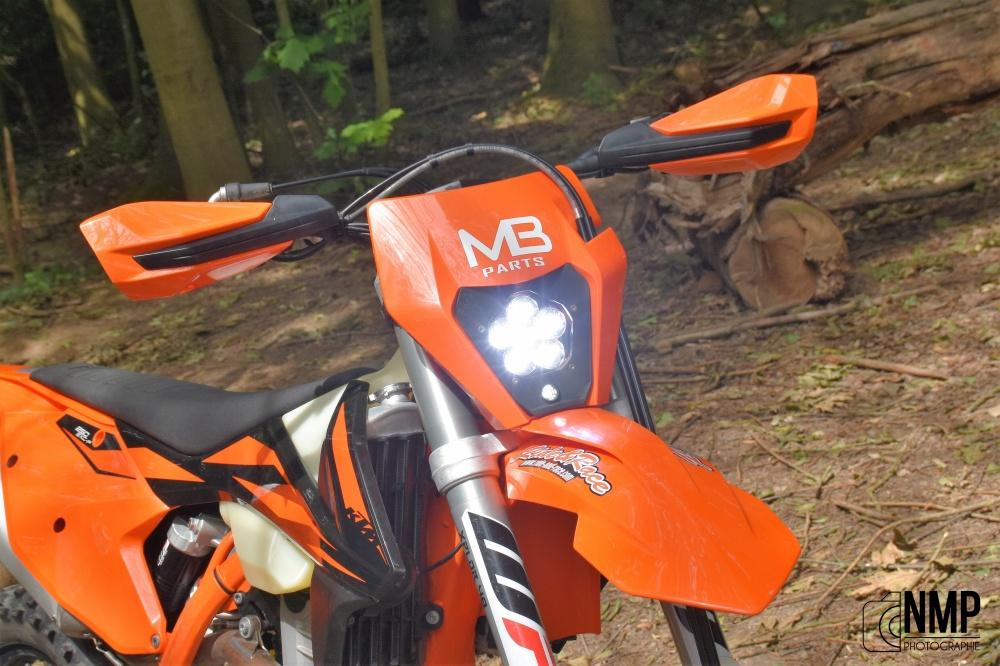 Mb Parts Des Phares Led Longue Portée Fabriqués En Wallonie Motocross Enduro Supermoto Motocrossmag