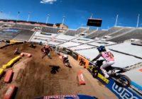 La finale 450 de Salt Lake City à bord de la Honda de Ken Roczen