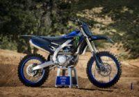 Les premières images des Yamaha cross 2021