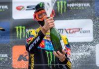 Thibault Benistant champion d'Europe EMX250