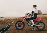 La nouvelle Honda CRF250 2022 présentée par Jett et Hunter Lawrence
