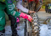 Des gants pour nettoyer les parties les moins accessibles de votre moto